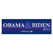 FREE - Obama Biden 2012 Bumper Bumper Sticker