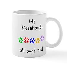 Keeshond Walks Mug