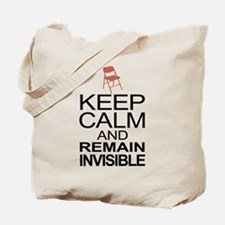 Obama Empty Chair - Remain Invisible Tote Bag