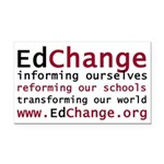 edchange-logo copy.png Rectangle Car Magnet