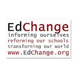 edchange-logo copy.png Car Magnet 20 x 12