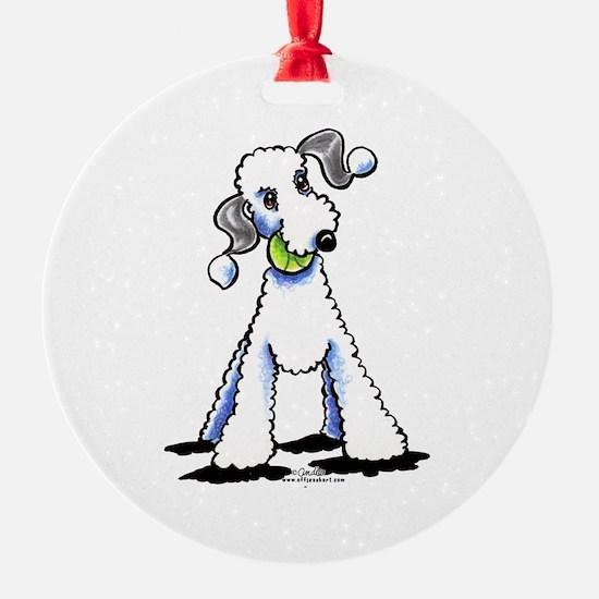 Bedlington Terrier Play Ornament