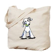Bedlington Terrier Play Tote Bag