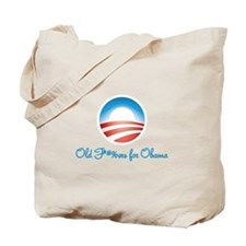 Old F-ers for Obama Tote Bag