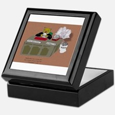 Schrödingers cats other job Keepsake Box