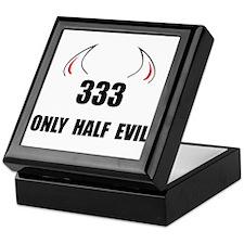 333 Half Evil Keepsake Box