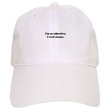 Adjective Verb Nouns Baseball Cap
