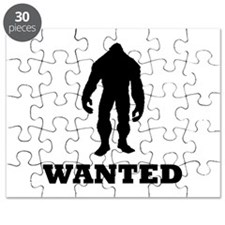 Bigfoot Wanted Puzzle