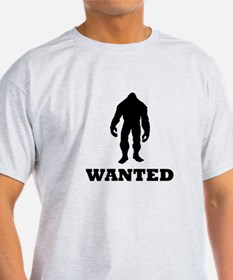 Bigfoot Wanted T-Shirt