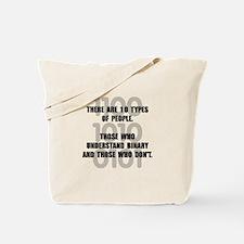 Binary People Tote Bag