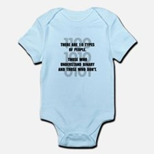 Binary People Infant Bodysuit