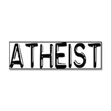 Atheist Car Magnet 10 x 3