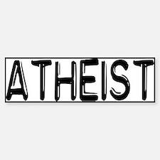 Atheist Sticker (Bumper)