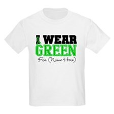 Personalize I Wear Green T-Shirt