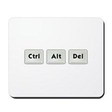 Ctrl Alt Del Key Mousepad