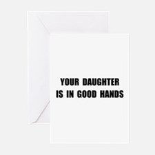 Daughter Good Hands Greeting Cards (Pk of 10)
