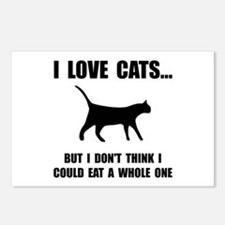 Eat A Whole Cat Postcards (Package of 8)