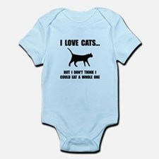 Eat A Whole Cat Onesie