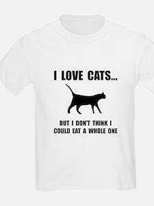 Eat A Whole Cat T-Shirt