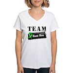Personalize Team BMT SCT Women's V-Neck T-Shirt