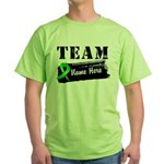 Personalize Team BMT SCT Green T-Shirt
