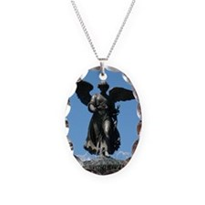 Bethesda Fountain Angel Necklace