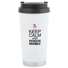 Obama Empty Chair - Remain Invisible Travel Mug