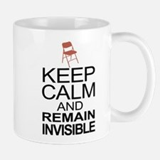 Obama Empty Chair - Remain Invisible Mug