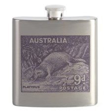 Unique Stamp collecting Flask