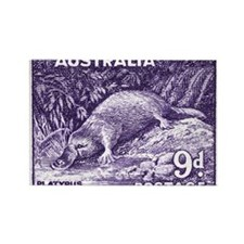 Cute Echidnas Rectangle Magnet