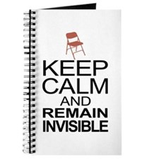 Obama Empty Chair - Remain Invisible Journal