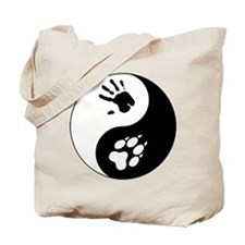 Wolf Therian Ying Yang Tote Bag