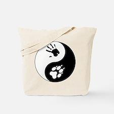 Wolf Therian Ying Yang Tote Bag