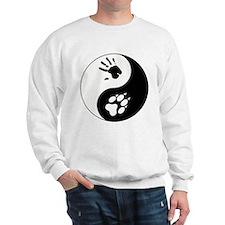 Wolf Therian Ying Yang Sweatshirt