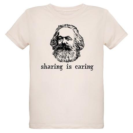 Marx: Sharing is Caring Organic Kids T-Shirt