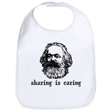 Marx: Sharing is Caring Bib