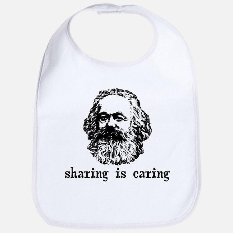 Marx: Sharing is Caring Bib