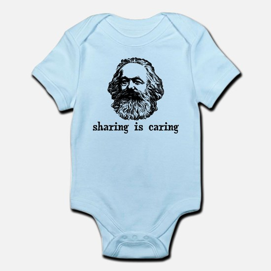 Marx: Sharing is Caring Infant Bodysuit