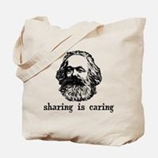 Marx: Sharing is Caring Tote Bag