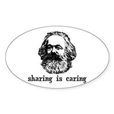 Marx: Sharing is Caring Decal