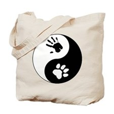 Big Cat Therian Ying Yang Tote Bag