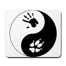 Fox Therian Ying Yang Mousepad