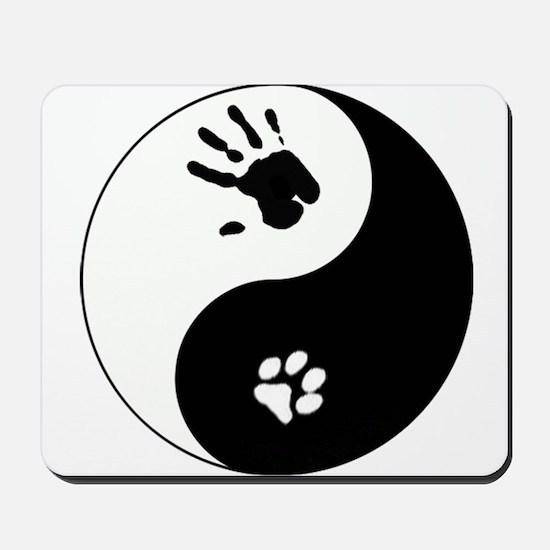 Cat Therian Ying Yang Mousepad