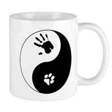 Cat Therian Ying Yang Mug