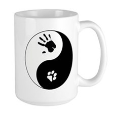 Cat Therian Ying Yang Mug