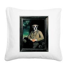 Poncelet Fawn Square Canvas Pillow