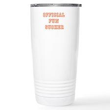 Official Fun Sucker Stainless Steel Travel Mug
