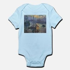 Claude Monet Sunrise At Sea Infant Bodysuit