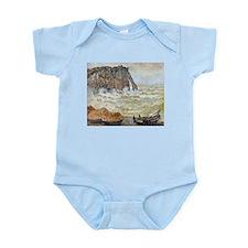 Claude Monet Stormy Sea Infant Bodysuit