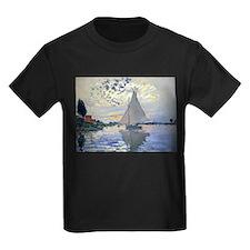 Claude Monet Sailboat T